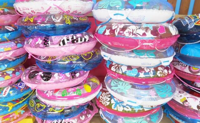 浮き輪を選ぼう!3歳児の子供にどのサイズを買えばいいの?