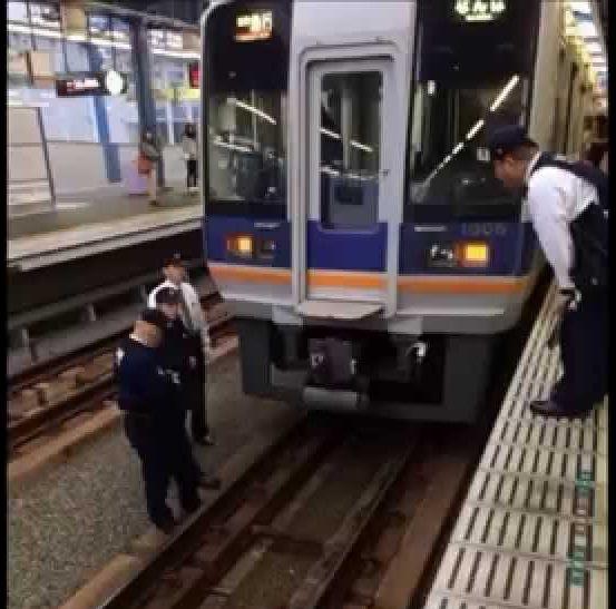 名古屋市営地下鉄でリアルGANTZ現象発生!線路内にうずくまる男性が忽然と消える!?