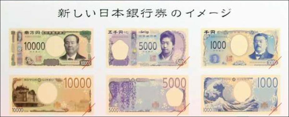 いつから 万 円 札 新 一